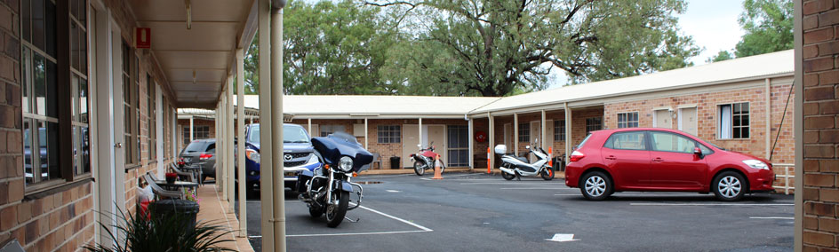 We are in a quiet off highway location with ample parking facilities for all vehicles.